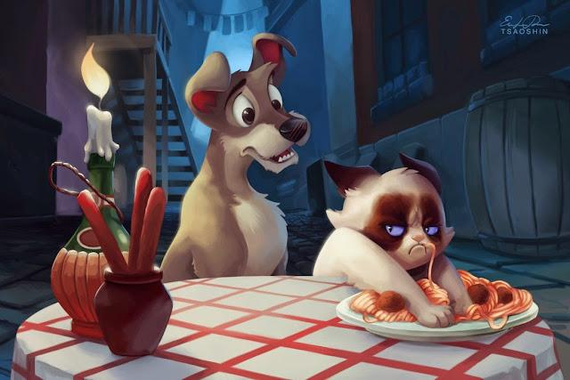 Zrzędliwa Kotka Została Księżniczką Disneya Gosiarella Gosiarella