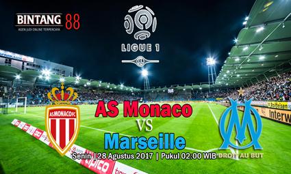 PREDIKSI SKOR Monaco vs Marseille Tanggal 28 AGUSTUS 2017