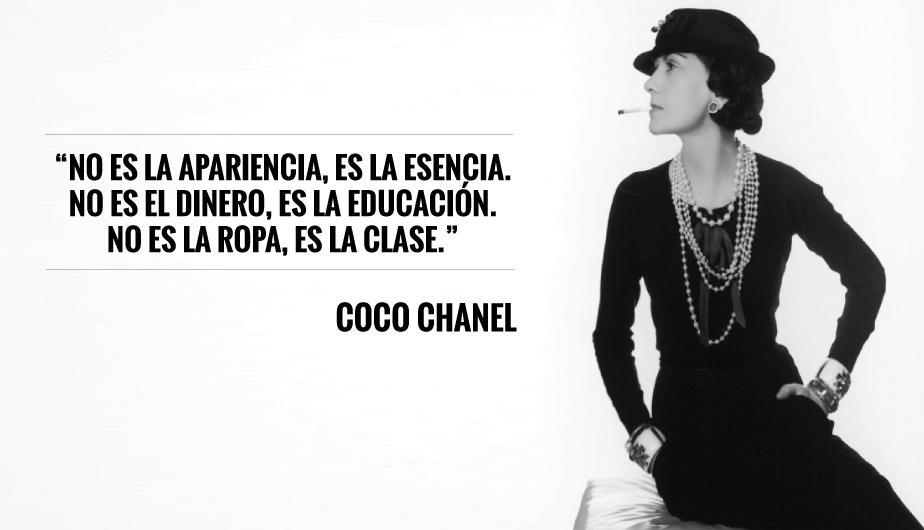 Frases inspiracionales de Coco Chanel - Rise And Glitter