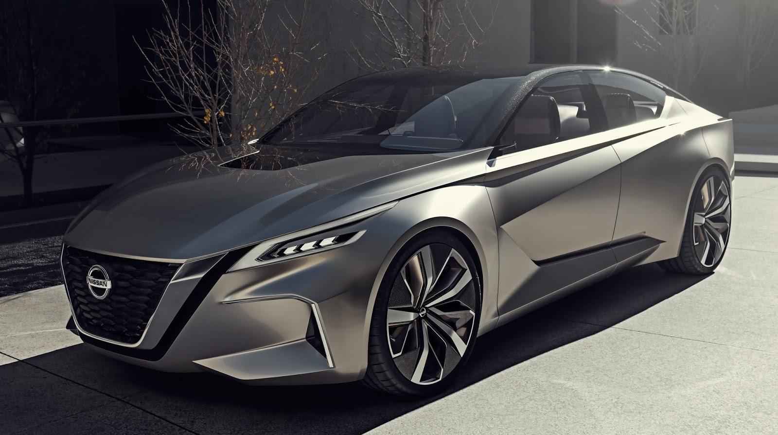 Nissan Vmotion: conceito se destaca em Detroit com condução autônoma