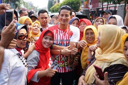 Doa Emak-Emak untuk Prabowo-Sandi, Mengharukan!