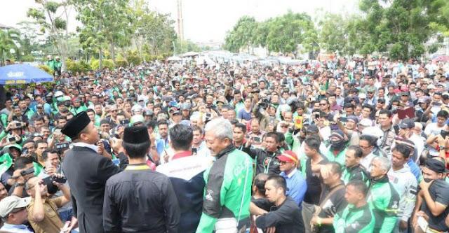 Ketua DPRD Kota Batam Pimpin RDP Tuntutan Driver Online