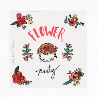 invitations anniversaire flower party my little day
