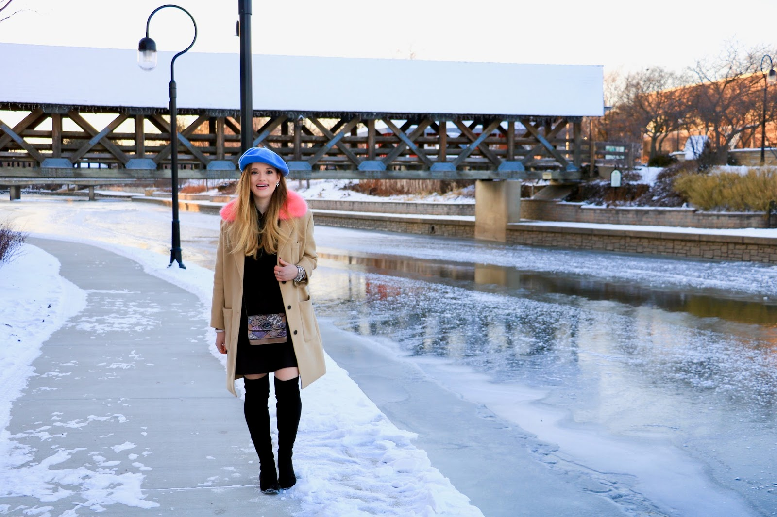 Nyc fashion blogger Kathleen Harper wearing a winter outfit