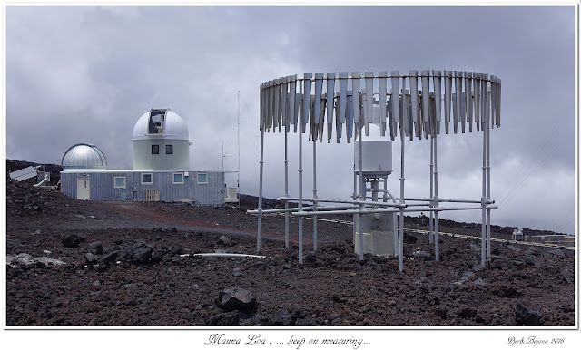 Mauna Loa: ... keep on measuring...