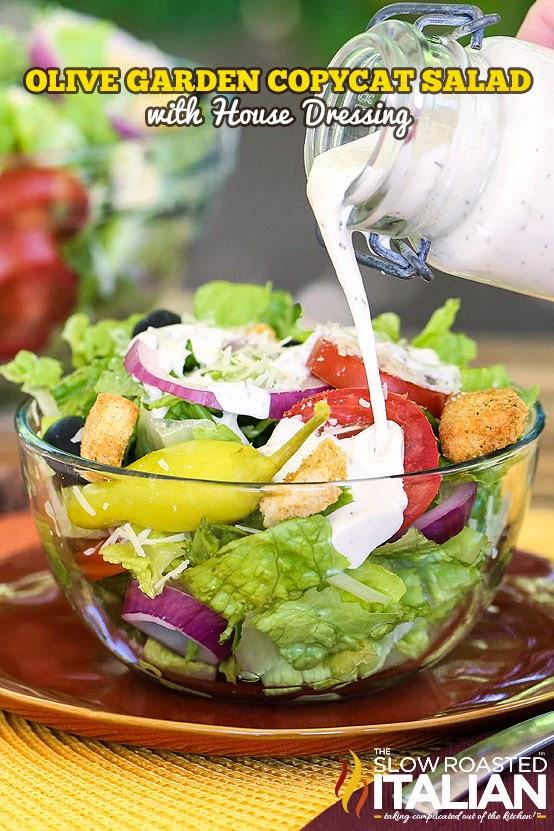 olive garden copycat salad dressing - Olive Garden Salad