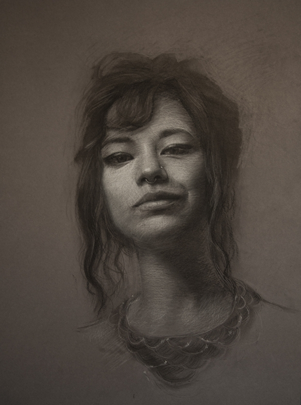 08-Shana-Levenson-Charcoal-Portraits-on-Paper-Inspired-by-Nostalgia-www-designstack-co