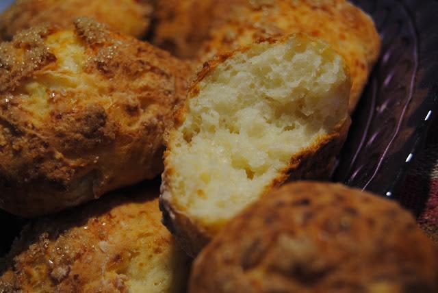 Beztłuszczowe bułeczki z białego sera