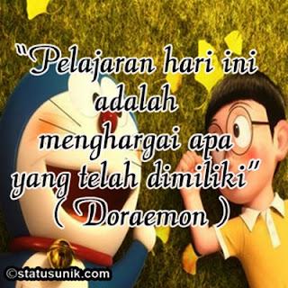 Kumpulan DP BBM Kata Kata Bijak Doraemon Terbaru | Blog Tekno ...