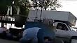 VIDEO; Mega balacera en Nuevo Laredo sicarios atacan a fiscales de la PGR; 4 heridos y 3 muertos