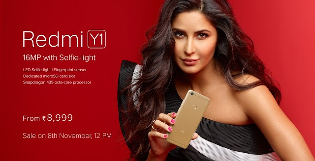 {Today} Xiaomi Redmi Y1 & Y1 Lite Launched, Price, Specifications – Buy at Amazon Flash sale