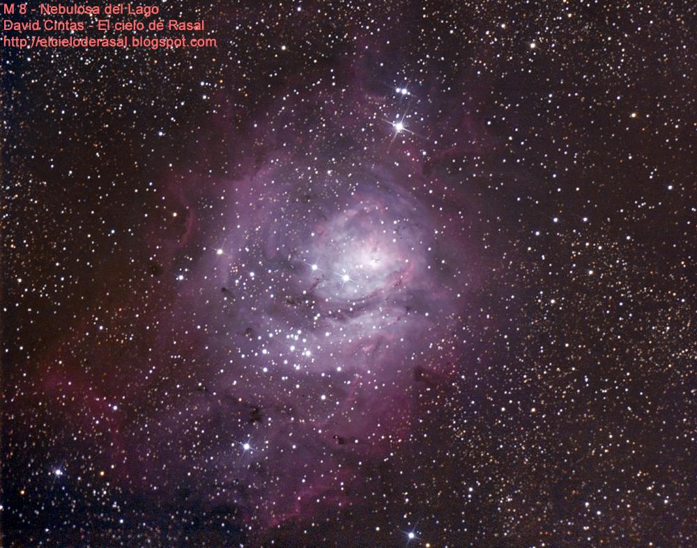 Nebulosa del lago m8 el cielo de rasal