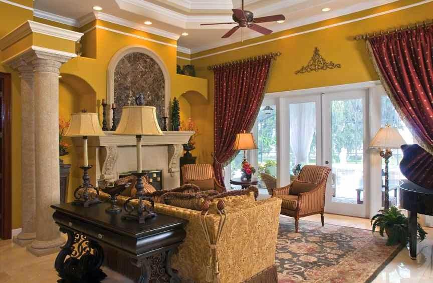 comment choisir une couleur de peinture pour un salon. Black Bedroom Furniture Sets. Home Design Ideas