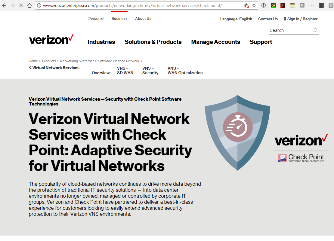 Converge! Network Digest: Verizon adds Checkpoint to its