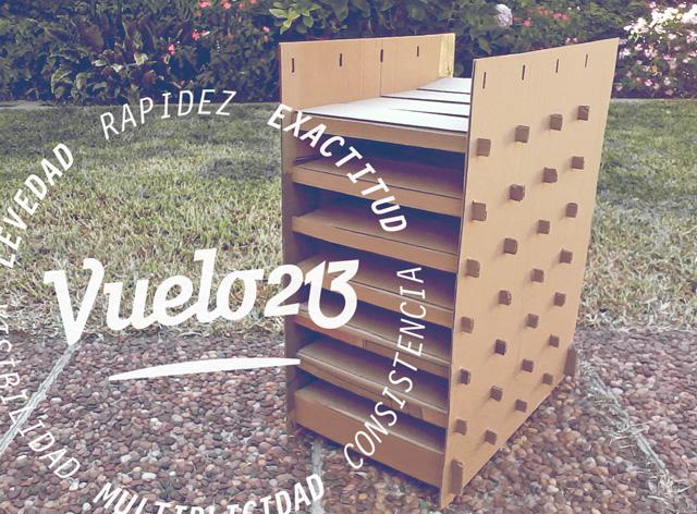 organizador papeles, carton corrugado, benjamin casanova, diseño grafico, concepcion del uruguay