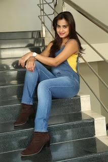 Actress Dimple Chopade Latest Pictures in Jumpsuit at Krishnashtami Success Meet  0051