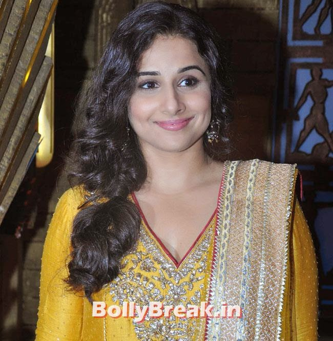 Vidya Balan, Vidya Balan & Dia Mirza in Punjabi Suits Promote Bobby Jasoos on Entertainment Ke Liye Kuch Bhi Karega