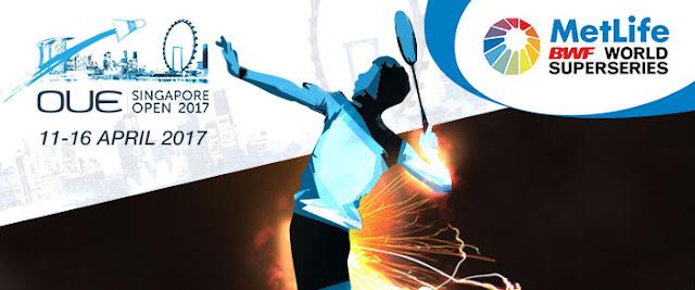 Live Streaming Badminton Singapore Open 2017 - Semi-Final