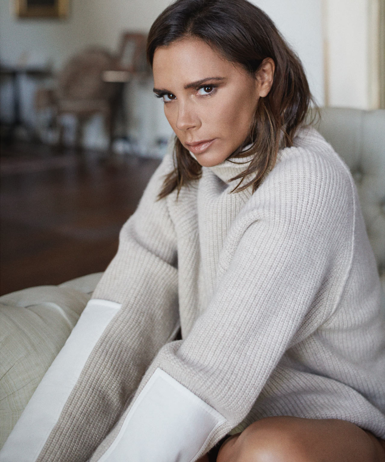 Smile: Victoria Beckham in The Edit Magazine October 6th ...