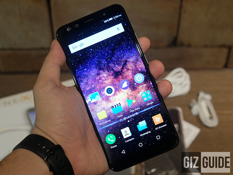 Cloudfone Next Infinity Quattro Review - The KING of local phones?
