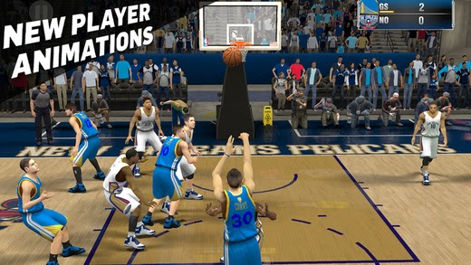 NBA 2K15 Mobile Game Out Now on iOS and Amazon Fire Devices
