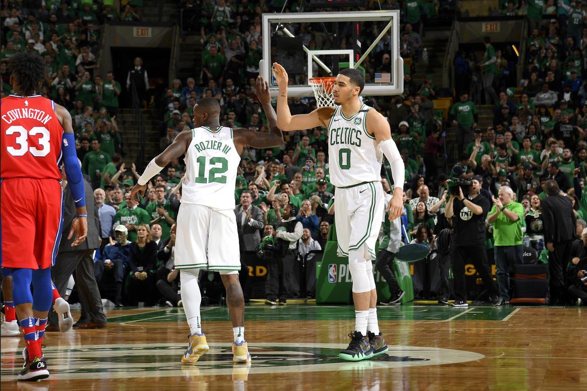 more photos 48b56 548f6 Celtics Life: Videos: Terry Rozier, Jayson Tatum huge for Cs ...