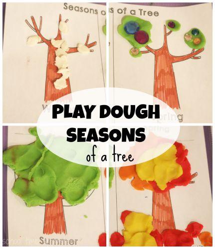 four seasons printable for kids