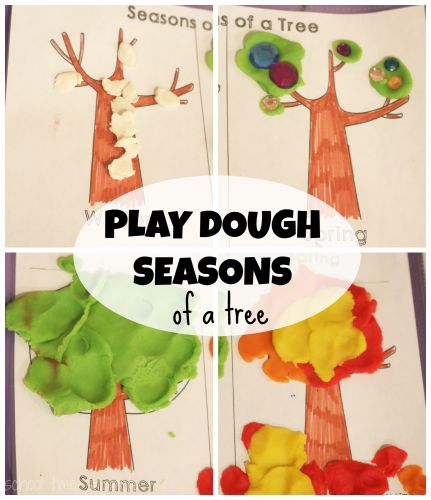 four seasons printable for kids