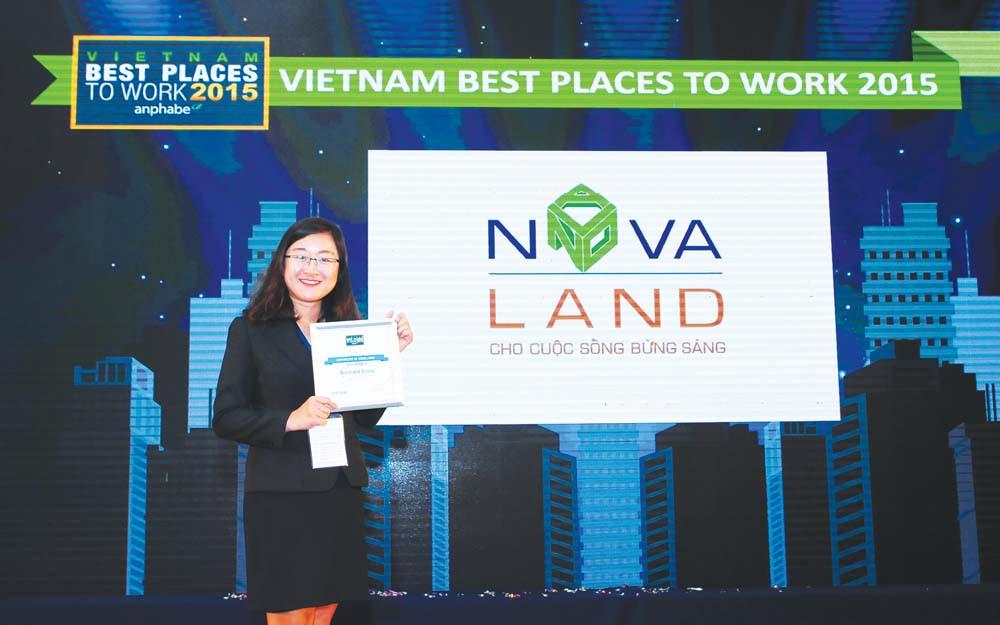 Giải thưởng của Novaland