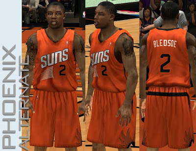 NBA 2K13 Phoenix Suns 2013-14 Alternate Jersey Patch