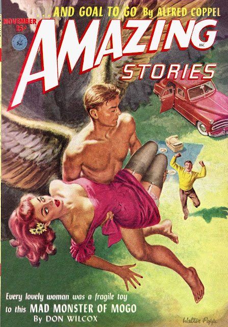 Amazing Stories #11, volumen 26, noviembre 1952