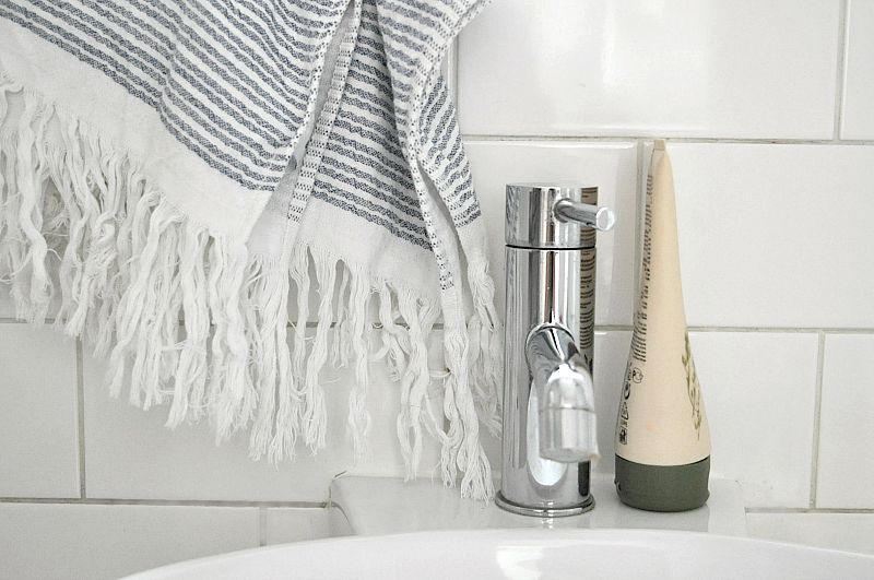 Bathroom accessories with soak & sleep towels