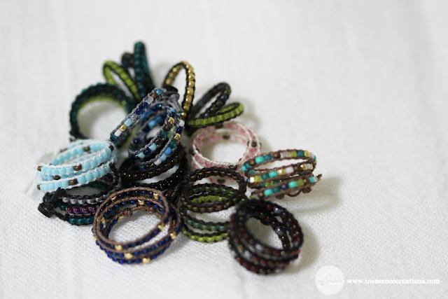 inEssence Creations - Minifee Wrap Bracelets