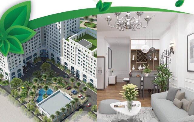 Phối cảnh chung cư Eco City Long Biên