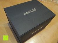 Box: smartLAB profi-I Oberarm Blutdruckmessgerät. Sie erhalten das Baugleiche smartLABprofi+ anstelle. Hinweise bitte lesen