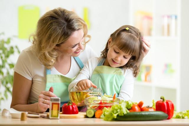 تشجيع طفلك على تناول الأكل الصحي