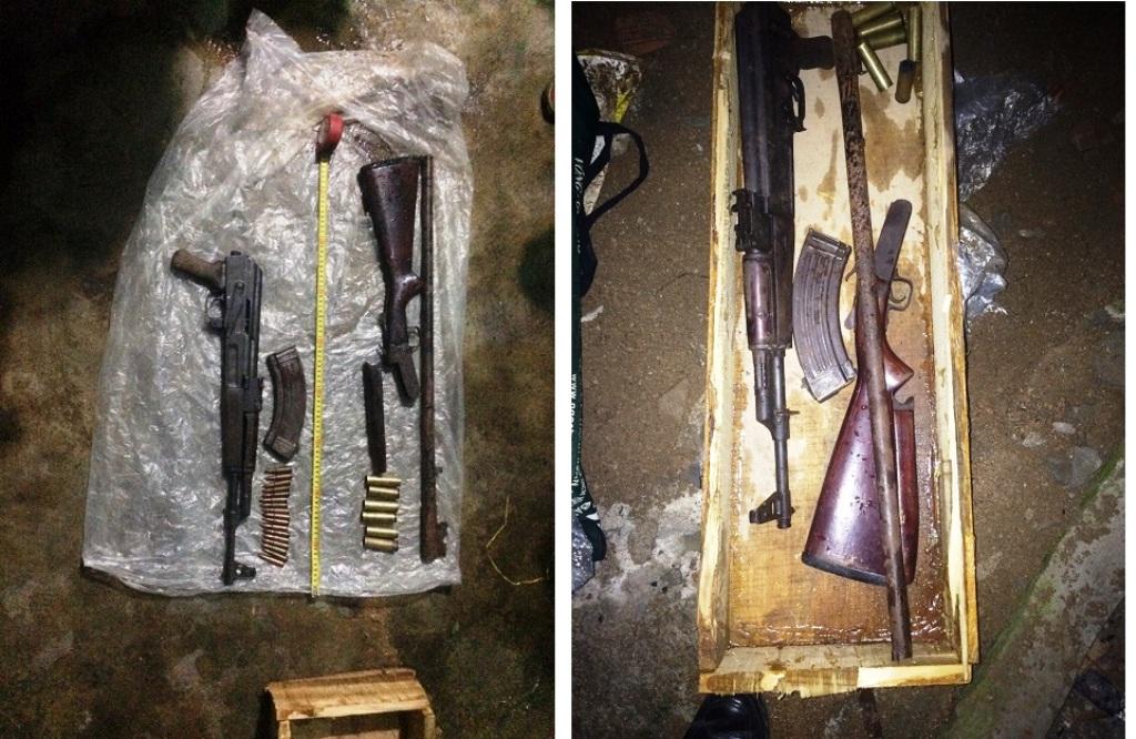 """Gia Lai: Bắt 2 côn đồ có """"số má"""", dùng súng và lựu đạn đi đòi nợ thuê"""