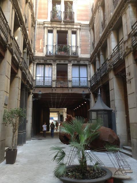 pelas ruas de barcelona