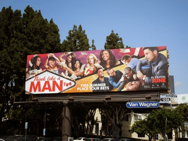 Think Like a Man Too movie billboard