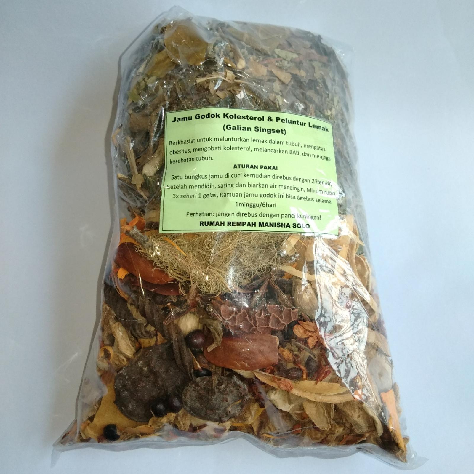 Tanaman Herbal Peluntur Lemak
