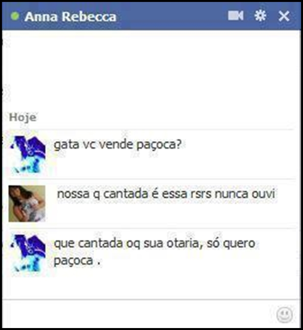 Amiga do facebook messenger brasileira
