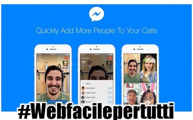 Facebook Messenger | Come aggiungere nuove persone alle videochiamate