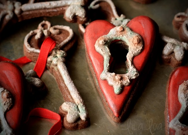 Valentine's Day cookie decorating tutorial