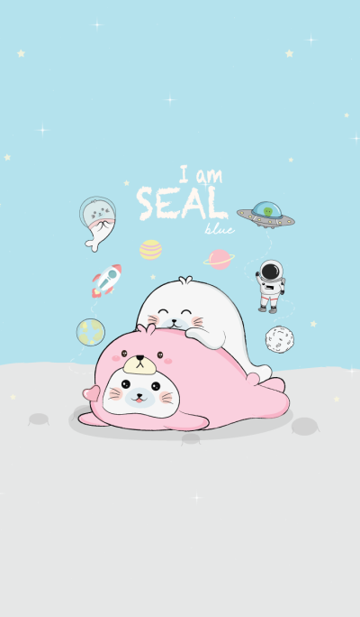 I am Seal (Bear Pink Costume)