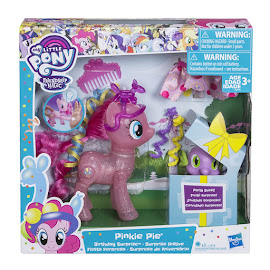 MLP Pinkie Pie Birthday Surprise Pinkie Pie Brushable Pony