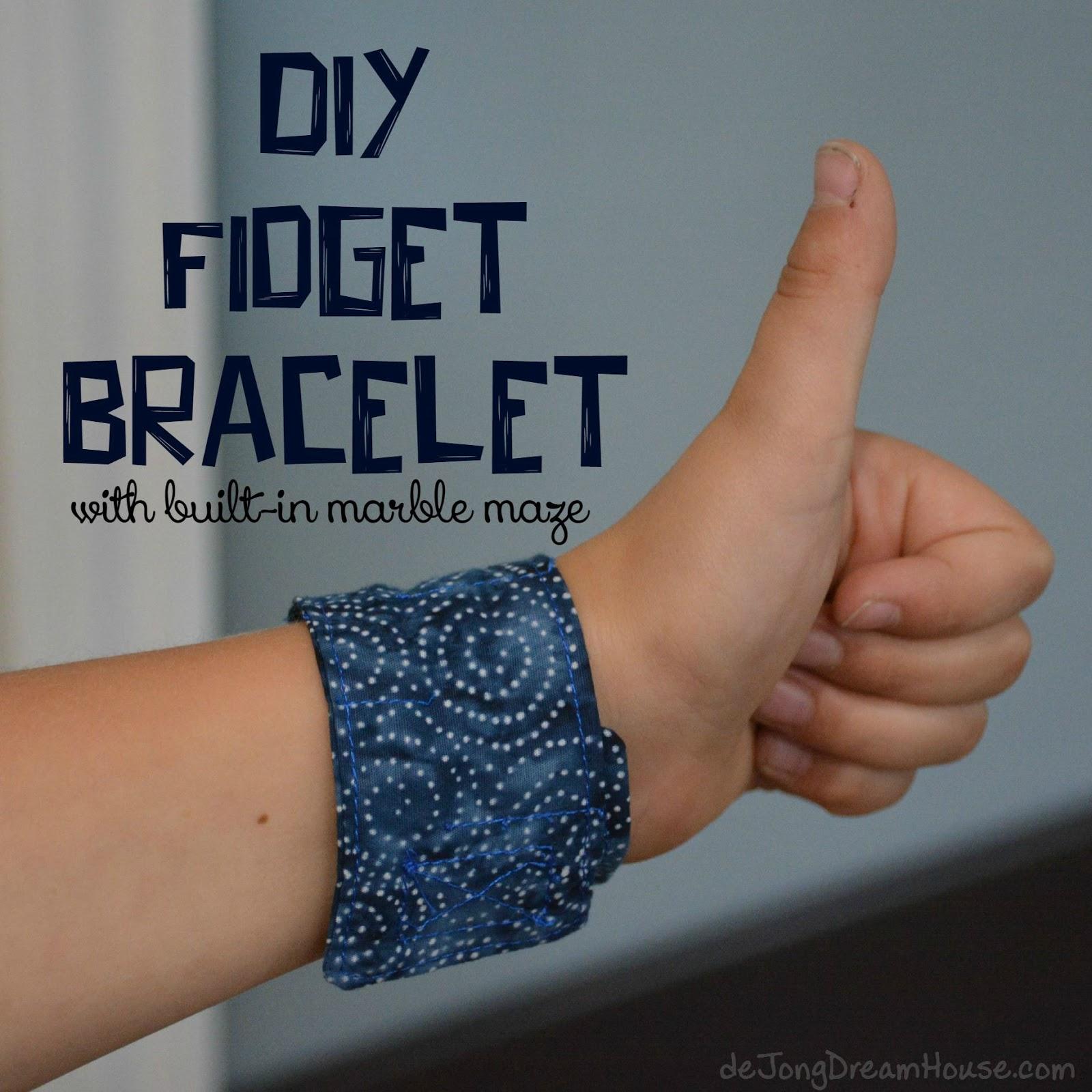 De Jong Dream House Diy Fidget Bracelet With Built In