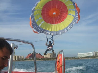 Paragliding at 18th World Puzzle Championship 2009 Antalya Turkey
