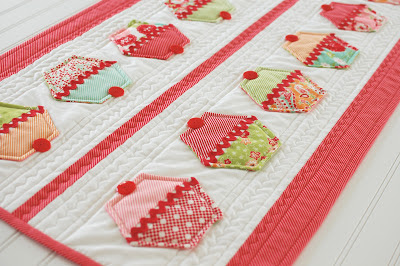 """Joy"" Christmas Table Runner"