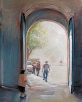 Assisi Italy church doors