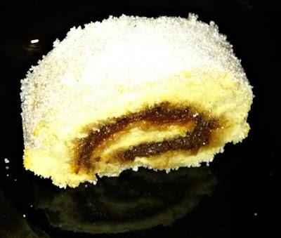 rocambole, jam roll, rolled cake, torta